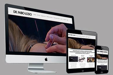 Realizzazione Sito Web Dr. Fabio Lodo